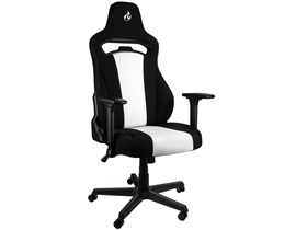 Nitro Concepts E250 Gaming Chair in Black and White