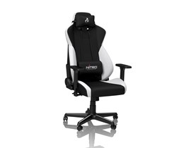 Nitro Concepts S300 Fabric Gaming Chair - Radiant White