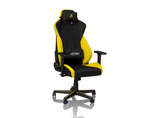 Nitro Concepts S300 Fabric Gaming Chair - Astral Yellow