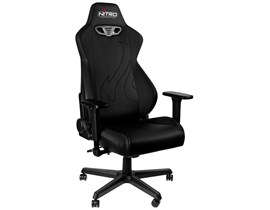 Nitro Concepts S300 EX Gaming Chair in Stealth Black