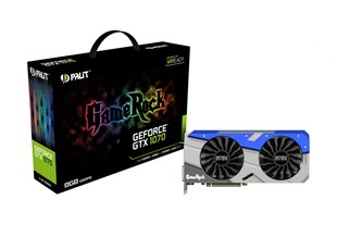 Palit GeForce GTX 1070 GameRock 8GB Graphics Card