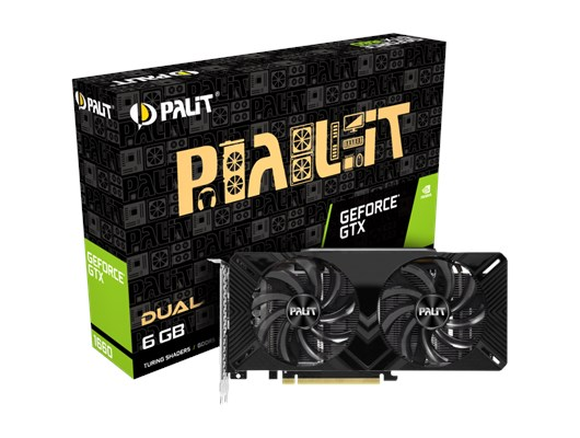 Palit GeForce GTX 1660 Dual 6GB Graphics Card