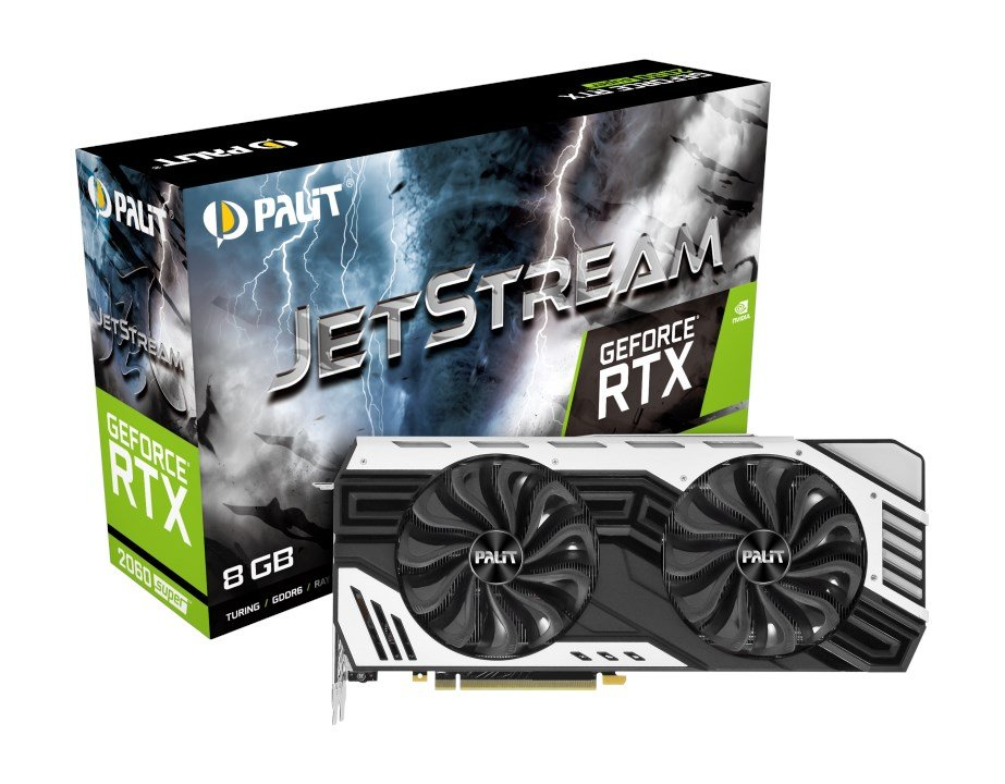 Palit GeForce RTX 2060 SUPER 8GB Jetstream Edition Boost Graphics