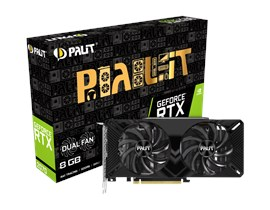 Palit GeForce RTX 2070 Dual 8GB Graphics Card