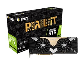 Palit GeForce RTX 2080 Ti Dual 11GB Graphics Card