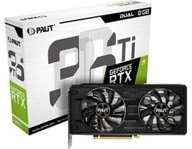 Palit GeForce RTX 3060 Ti Dual 8GB GPU