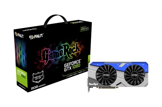 Palit GeForce GTX 1080 GameRock Premium 8GB Card