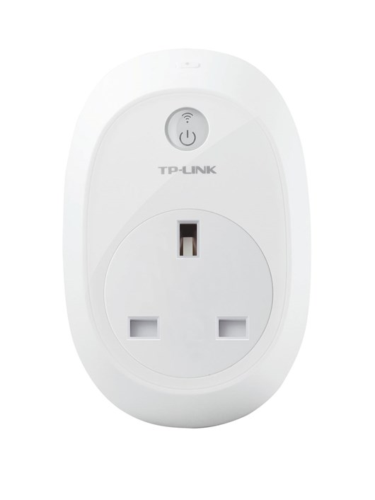 TP-LINK HS110 WiFi Smart Plug with Energy Monitoring 2.4GHz 802.11 b/g/n (White)