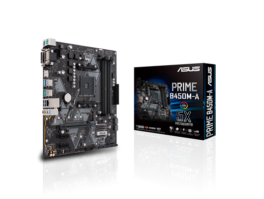 ASUS PRIME B450M-A AMD Socket AM4 Motherboard
