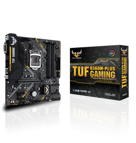 ASUS TUF B360M-PLUS GAMING Intel Motherboard