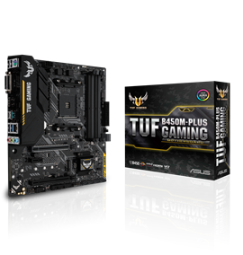 ASUS TUF B450M-PLUS GAMING AMD Socket AM4