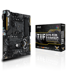 ASUS TUF X470-PLUS GAMING AMD Motherboard