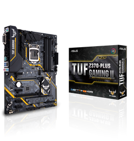 ASUS TUF Z370-PLUS GAMING II Intel Motherboard