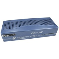 NEWLink 8-Port HDMI Splitter with 4K and 3D Support