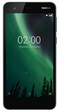 Nokia 2 (5 inch) Mobile Phone (Black)