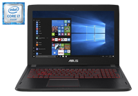 "Asus Gaming Laptop FX502VM 15.6"" i7-6700HQ GTX 1060 16GB RAM 256GB SSD+1TB HDD Win 10"