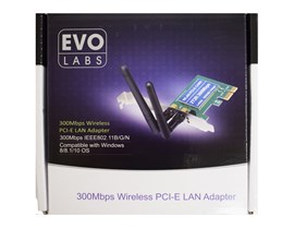 Evo Labs NPEVO-N300PCIE 300Mbps PCI WiFi Adapter