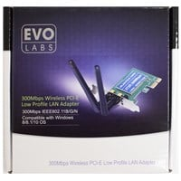 Evo Labs NPEVO-N300PCIELP 300Mbps PCI WiFi Adapter