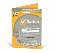Symantec Norton Security Premium - 1 Year Subscription for 1 User on 10 Devices (UK)