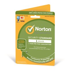 Symantec Norton Security Standard - 1 Year Subscription for 1 User on 1 Device (UK)