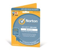 Symantec Norton Security Deluxe - 1 Year Subscription for 1 User on 3 Devices (UK)