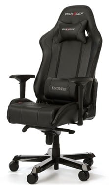 DXRacer King Series Gaming Chair (Black/Carbon)