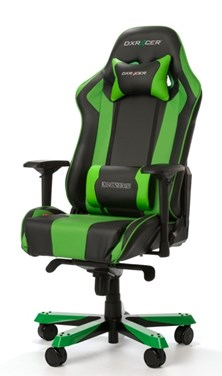 DXRacer King Series Gaming Chair (Black/Green)