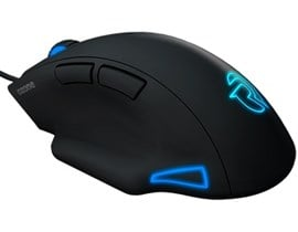Ozone Exon F60 Origen Optical RGB Illuminated Right-Handed USB Gaming Mouse (Black)