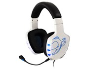 OZONE Rage 7HX 7.1 Gaming Headset, White (OZRAGE71W)