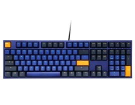 Ducky One 2 Horizon USB Mechanical Keyboard with Cherry MX Red Switches (UK)