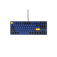 Ducky One 2 Horizon USB Mechanical Tenkeyless (TKL) Keyboard with Cherry MX Red Switches (UK)