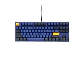 Ducky One 2 Horizon USB Mechanical Tenkeyless (TKL) Keyboard with Cherry MX Black Switches (UK)