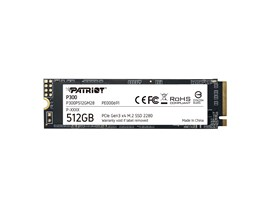 Patriot P300 512GB M.2-2280 PCIe 3.0 x4 NVMe SSD