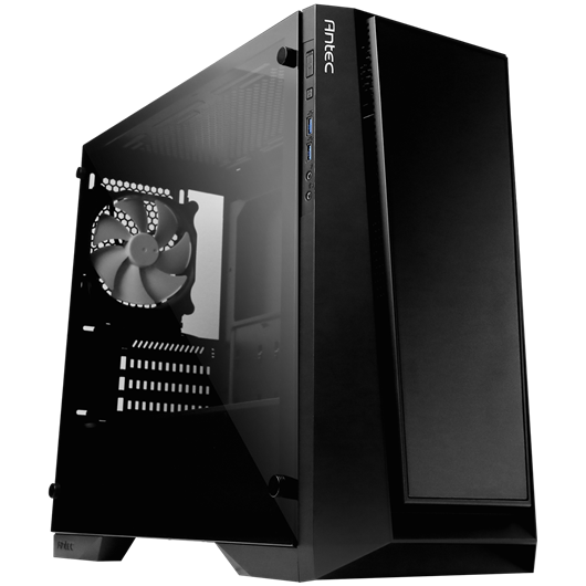 Antec P6 Mid Tower Gaming Case - Black