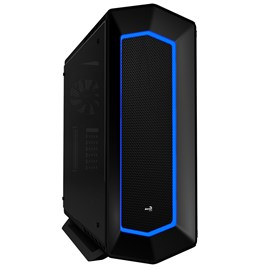 Aero Cool Project 7 Mid Tower Gaming Case - Black