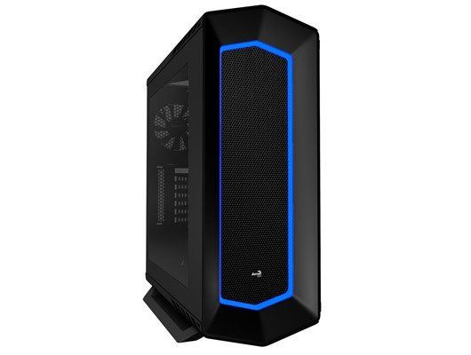 Aero Cool Project 7 Midi Tower Gaming Case - Black