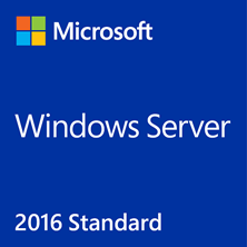 Microsoft Windows Server Standard 2016 64-bit (DVD) 16 Core, 1 Pack