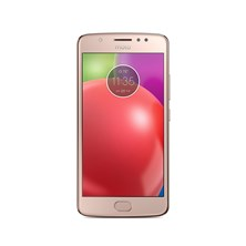 Motorola MOTO E4 (5.0 inch Touch) Mobile Phone MediaTek (MT6737) 1.3GHz 16GB Storage Wi-Fi WWAN Bluetooth Camera Android 7.1.1 (Blush Gold)