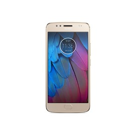 Motorola MOTO g5s (5.2 inch Touch) Mobile Phone Qualcomm (430) 1.4GHz 32GB Storage Wi-Fi WWAN Bluetooth Camera Android 7.1 (Fine Gold) *Open Box*