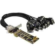 StarTech.com 16-Port Low-Profile Serial Card - RS232 - PCI Express