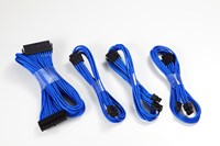 Phanteks 500mm Extension Sleeved Cable Combo Kit (Blue)