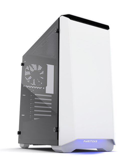 Phanteks Eclipse P400S Glass Gaming Case - White