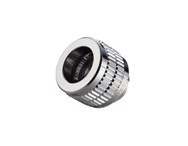 Phanteks 12mm Hard Tube Fitting G1/4 - Chrome