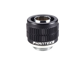Phanteks 13/10mm Compression Fitting (1/2'' - 3/8'') G1/4 - Black