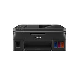 Canon PIXMA G4511 Multi-Function Wireless Colour Inkjet Printer with Refillable Ink, Cloud Connectivity, ADF