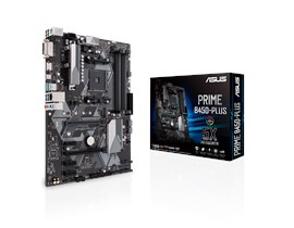 ASUS PRIME B450-PLUS AMD Socket AM4 Motherboard