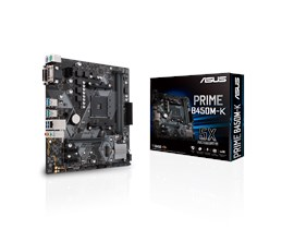 ASUS PRIME B450M-K AMD Socket AM4 Motherboard