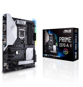 ASUS PRIME Z370-A II Intel Socket 1151 Z370 Chipset ATX Motherboard *Open Box*
