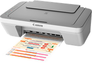 Canon PIXMA MG2450 (A4) Colour Inkjet All-in-One Printer (Print/Copy/Scan)