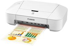 Canon PIXMA IP2850 (A4) Inkjet Photo Printers (White)